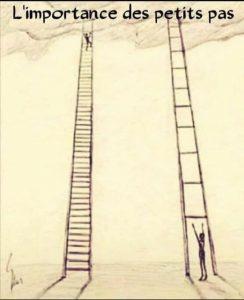 L'importance des petits pas